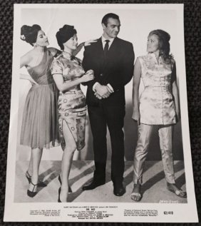 Dr. No - Set Of 2 1962 Movie Stills 8x10 - Connery In