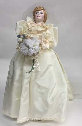 Royal Doulton Figurine Princess Diana Wedding Dress