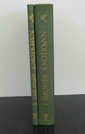 Napoleon's Memoirs (2 Vols.) Golden Cockerel Press