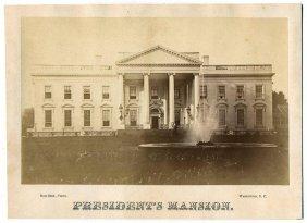 Ca. 1880 Big Albumen Photo By Rice Bros. Of White House