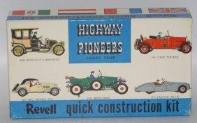 Vintage 1953 Revell Highway Pioneers 1953 Jaguar Xk-120