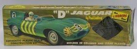 Rare Vintage Lindberg 1:24 Scale D Jaguar Race Car