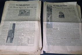 Wwii Stars And Stripes Large Edition Newspaper
