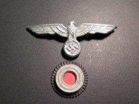 Wwii German Nazi Eagle Hat Pins