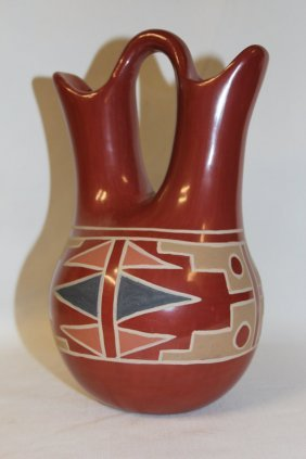 Wedding Vase : Native American Santa Clara Wedding