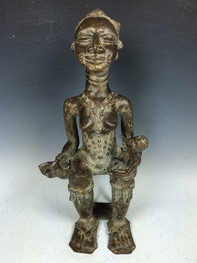 Bronze Maternity Statue
