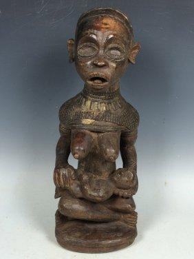 Bacongo Maternity Statue
