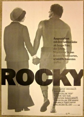 Rocky - Vintage 1977 German Poster - Classic Boxing