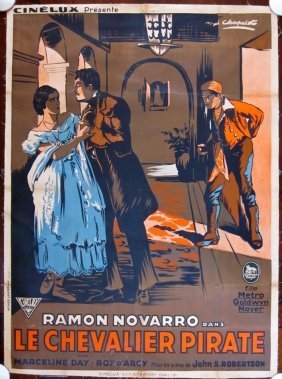 Price Dropped!! 1925 French Lb Movie Poster Road To