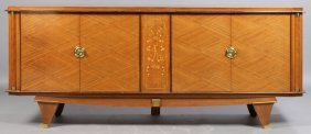 FRENCH JULES LELEU ART DECO SIDEBOARD