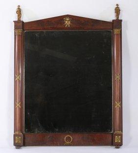 Baltic 19th Cent. Empire Style Pediment Mirror