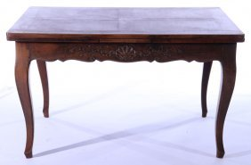 Carved Walnut French Dining Room Table 1940