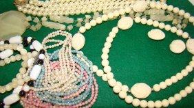 Various Beaded Costume Jewelry