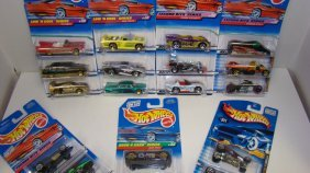 17 Various Nib Hot Wheels