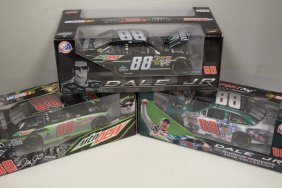 3 Nib Action Dale Jr #88 Amp Die-cast Cars