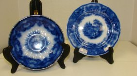 Middleport & Formosa Flow Blue Dishes