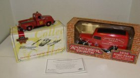 Ertl And Matchbox Die-cast Car Bank & Car