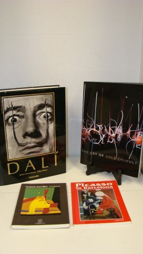 4 Various Art Reference Books