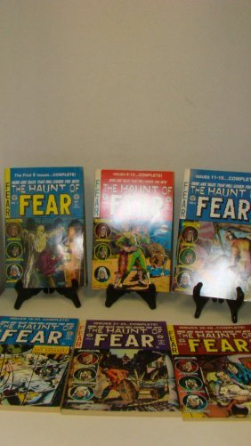Vol. 1-6 The Haunt Of Fear Comic Books