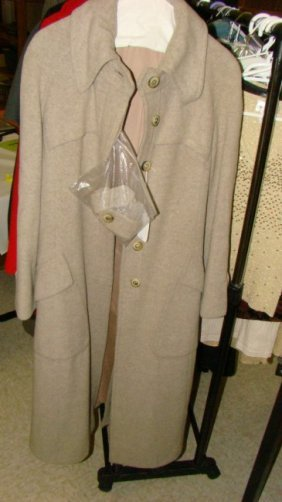 Vintage Peabody House Long Wool Coat
