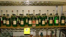 31 Various Vintage Bottles Of Bauer Hair Tonic Etc