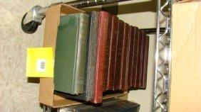 Half Shelf-various Vintage Books & Photo Albums