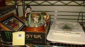 Half Shelf Christmas Decorative Items
