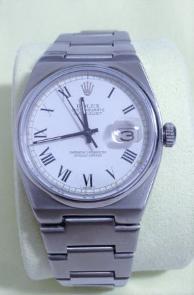 Rolex Vintage Quickset Datejust Oysterquartz