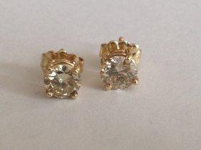 1 Carat Diamond Studs