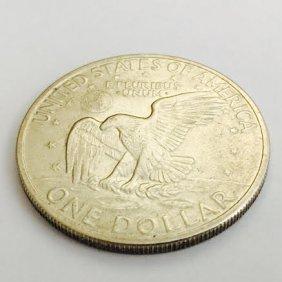 1972 Eisenhower Silver Coin