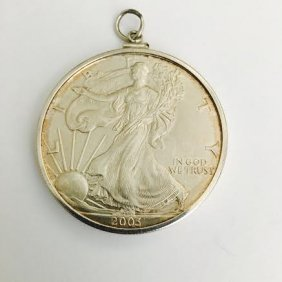 2003 One Dollar Silver Coin