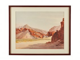 Clarence Nelson Aldrich Desert Watercolors (2)