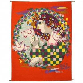 Bjorn Wiinblad Tapestry