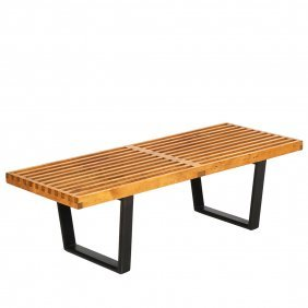 George Nelson Slat Bench