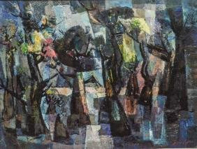 "Edward Loper Sr (american, De, 1916 - 2011), ""cypress"","
