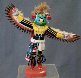 2260 Hopi Eagle Dancer Kachina By Henry Shelton Ca 19