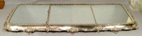 "Victorian Plated Silver Plateau, Unmarked, 60"" X 22"