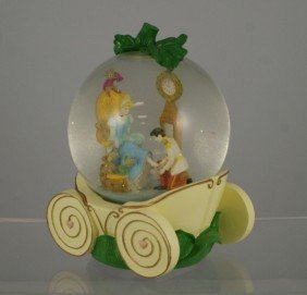 "Cinderella Musical Snow Globe, ""So This Is Love"","