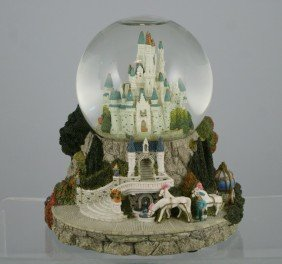 "Cinderella's Castle Musical Snow Globe, ""So This"