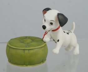 101 Dalmations Puppy With Ottoman (2 Pieces), Wal