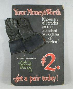 Advertising Poster, Osborne, Chicago Genuine Horse
