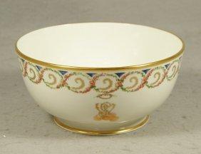 Lenox General Washington Monogram Bowl, For The S