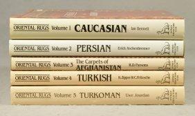 (5) Vols, Oriental Rugs, Antique Collectors Club,