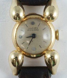 Lucien Picard 14K YG Ladies Wrist Watch On Origin