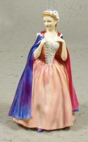 """Royal Doulton Figurine, Bess, 7"""" Tall"""