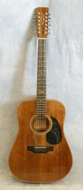 Alvarez 12 String Acoustic Guitar Model 5221 Serial 2