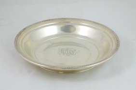 Richard Dimes Sterling Silver Center Bowl With