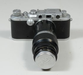 Leica Iiia 35 Mm Viewfinder Camera, Sn 217121, C 1936,