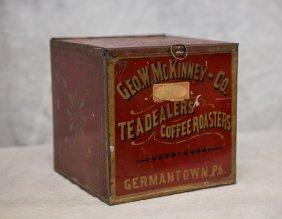 Geo W Mckinney & Co Teadealers / Coffee Roasters /