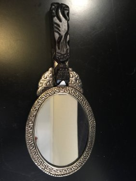 Chinese Old Sliver Mirror